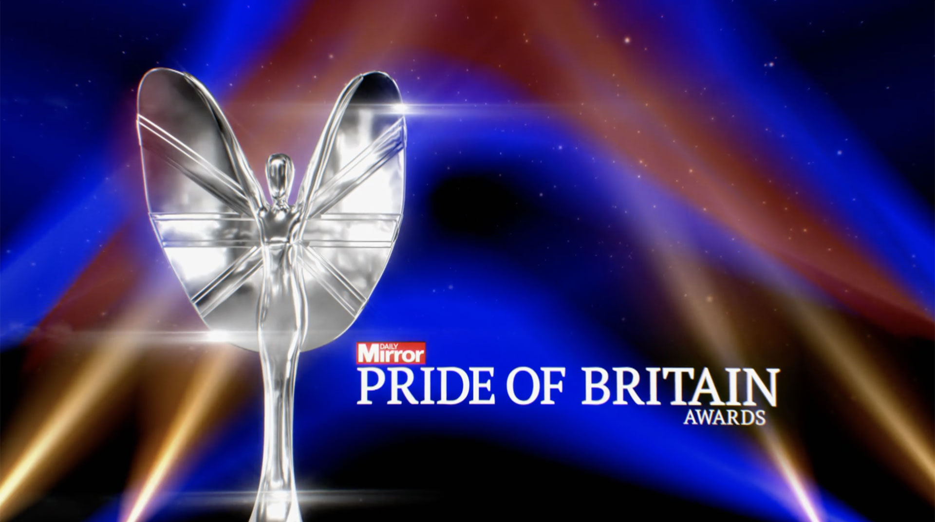 PRIDE OF BRITAIN 2019